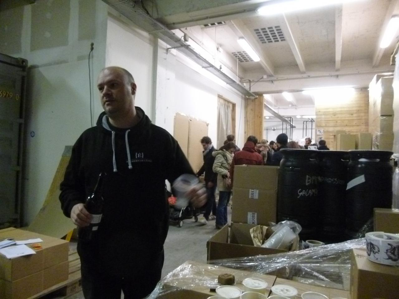 Visite-rencontre à la Brasserie de l'être 16/01/2016