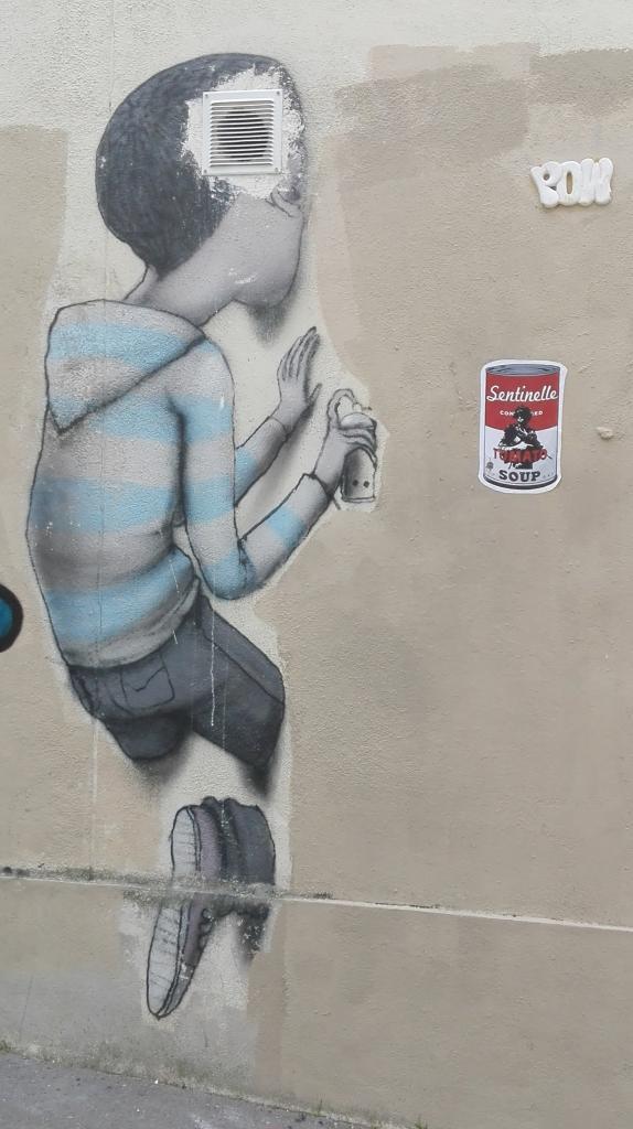 Y en a pour tous les goûts du street art !