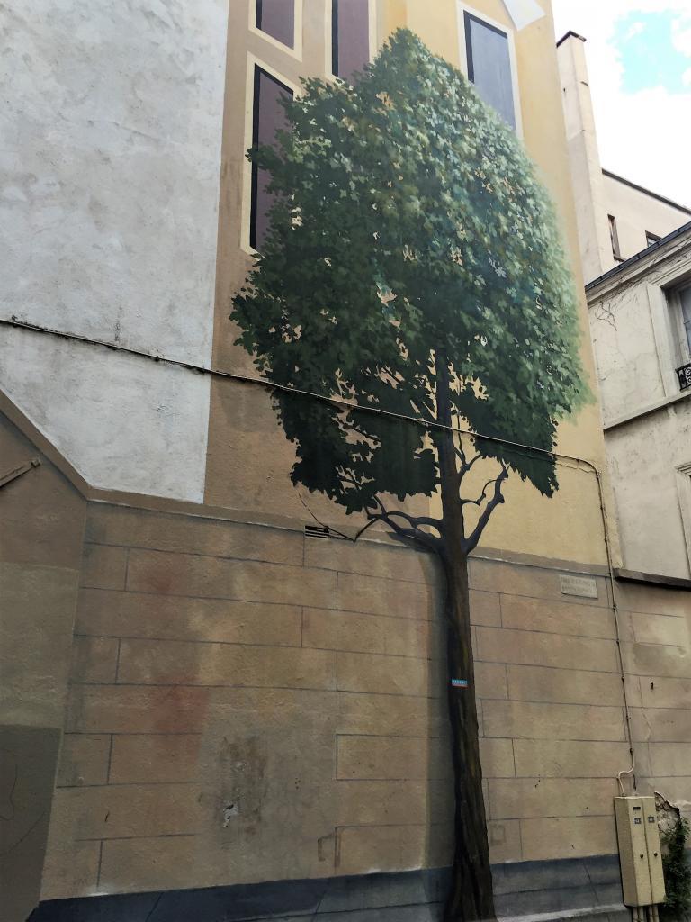 Graffiti : un autre moyen pour végétaliser Paris !