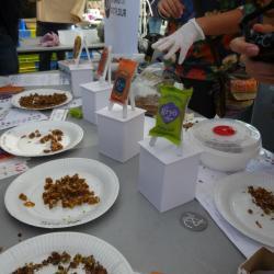 Avez vous dégusté les barres à la farine d'insecte ?