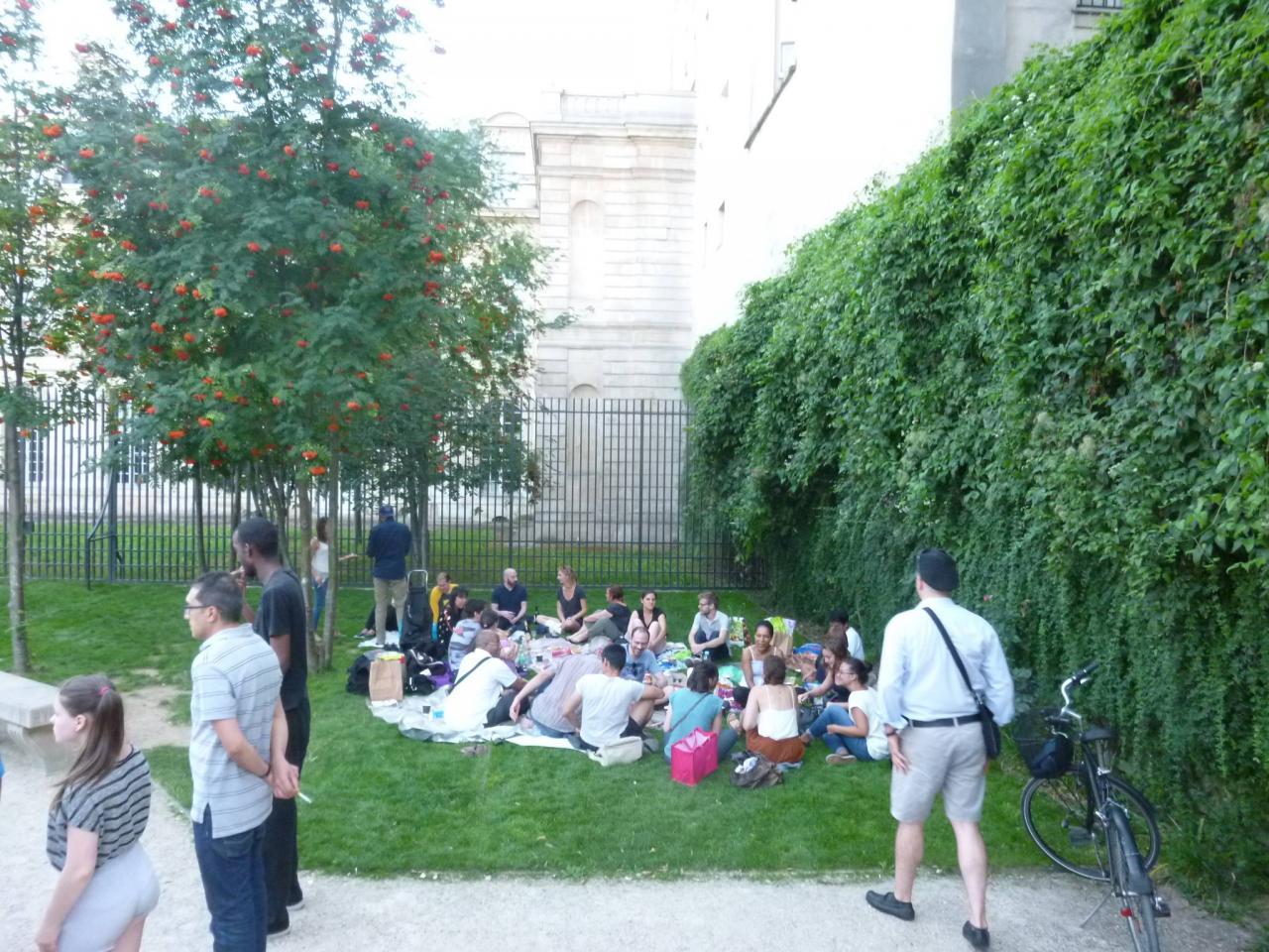 Le P'tit Pique-Nique de l'Eté à Paris (3 ème) 23/08/2016