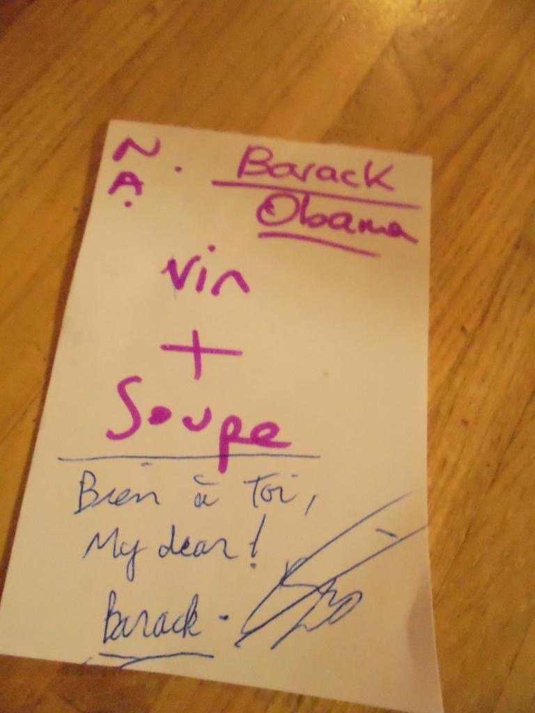Barack ne se refuse rien !