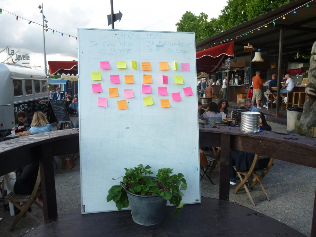 PariSolidari-Troc à La Javelle (Paris 15) - Eté 2016