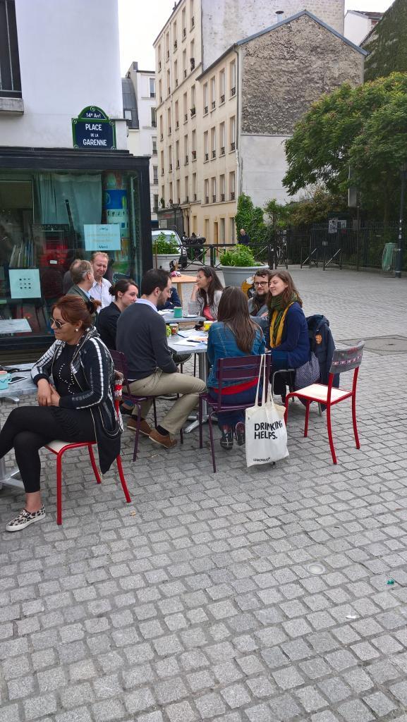 Bon moment au Moulin à Café