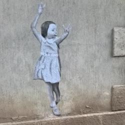 So chic cette petite fille !
