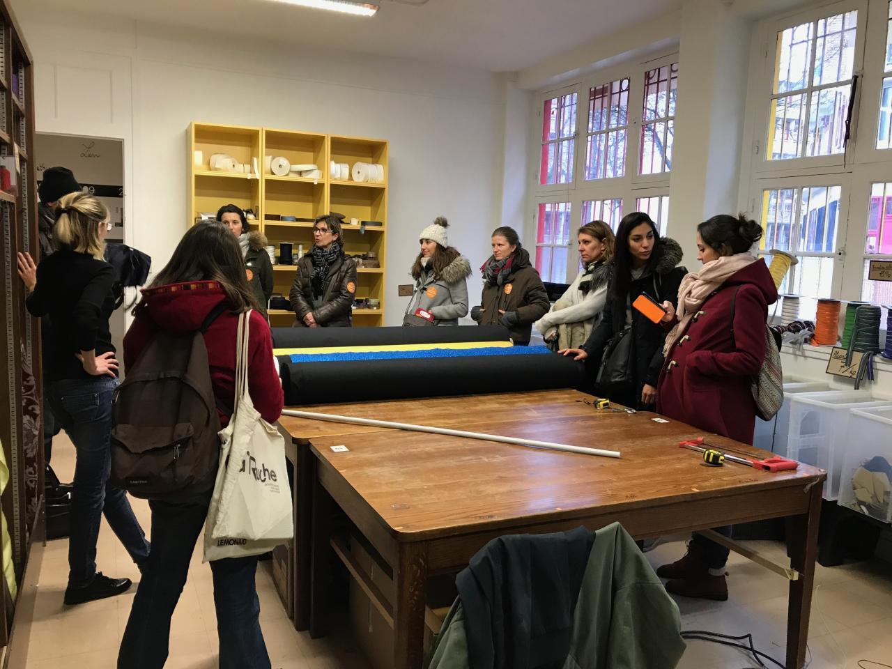 Présentation de la Réserve des Arts à La Fondation Yves Rocher