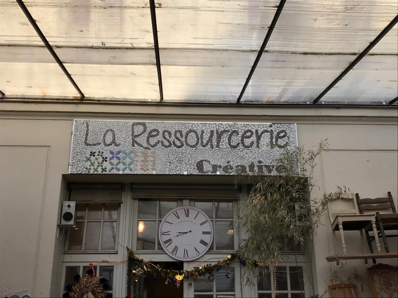Mais aussi de son voisin La Ressourcerie Créative !