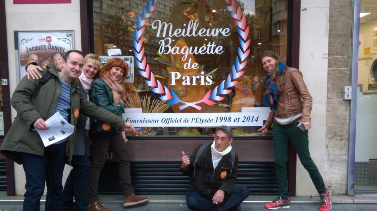 A vous de juger si la baguette est la meilleure de Paris