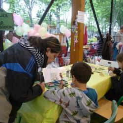 Scrapbooking pour les enfants avec Karine
