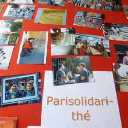 Avez vous fait un tour au stand de PariSolidari-Thé ?