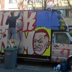 Street Art en live !!!
