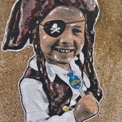 Les enfants adorent le 13e pour le street art
