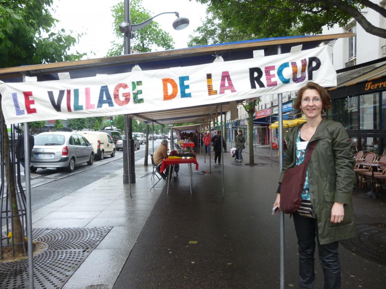 Village de la Récup, Paris 13 ème, 04/06/2016