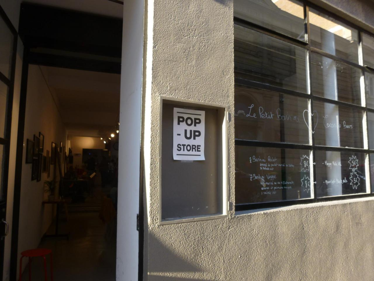La rencontre a eu lieu au Pop Up Store